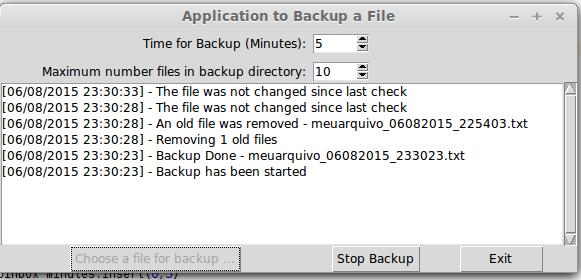 Backup File Utility in Python [Tkinter application] – Victor